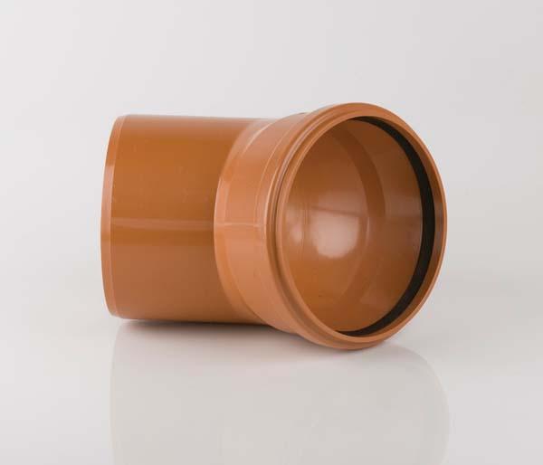 Sewer 400mm Single Socket 45\' Bend