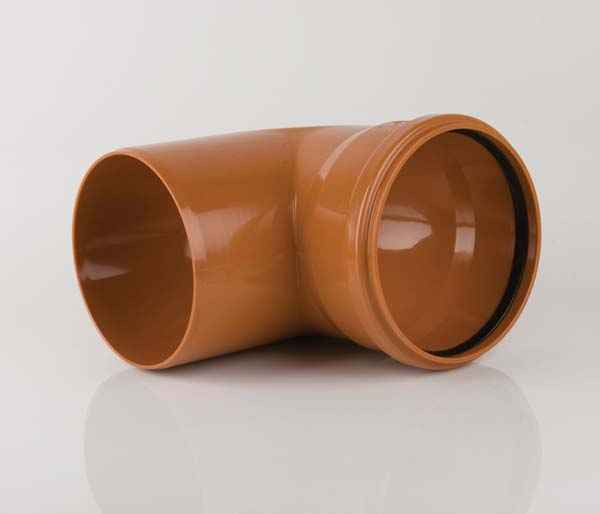 Sewer 400mm Single Socket 87.5\' Bend
