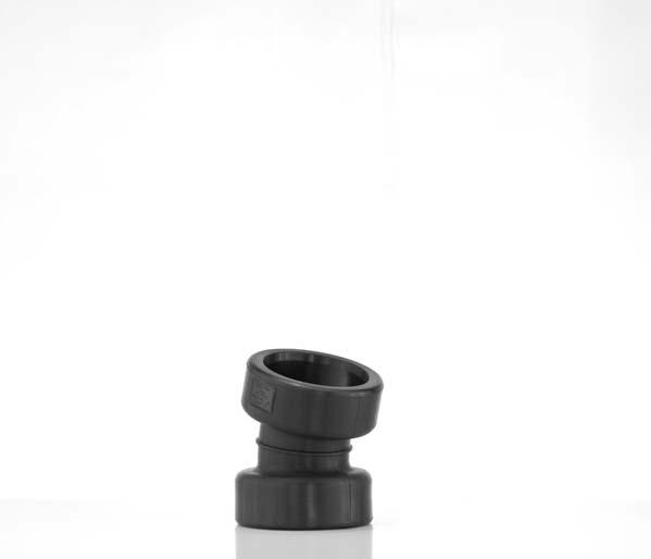 Twinwall 150mm 15\' Double Socket Bend