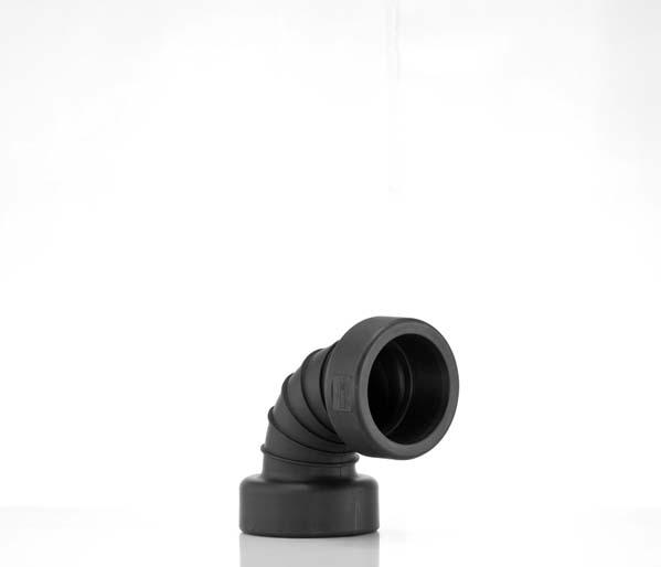 Twinwall 150mm 90\' Double Socket Bend