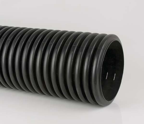 Twinwall 375mm 6 Mtr Pipe