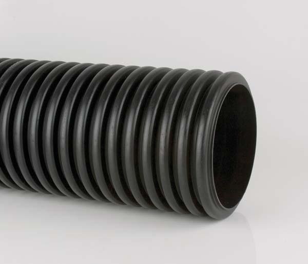 Twinwall 300mm 6 Mtr Pipe
