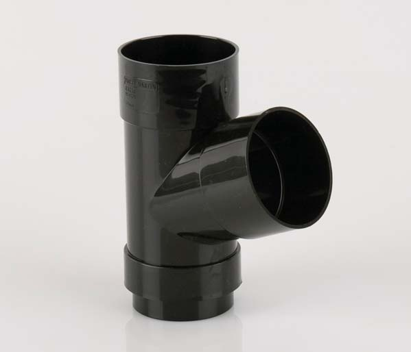 Black 68mm Downpipe 112\' Branch
