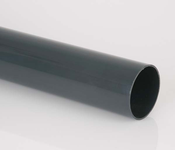 Anthracite 68mm Downpipe 4 Metre Length
