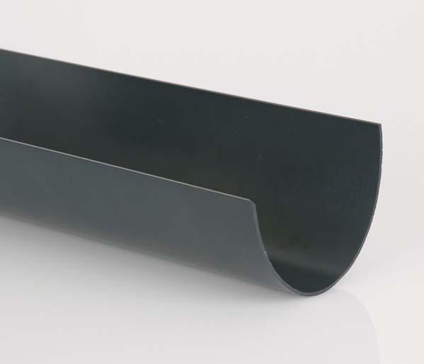 Deepstyle 115mm Gutter Anthracite 4 Metre Len