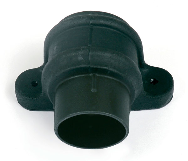 105mm Downpipe Coupler With Lugs Black