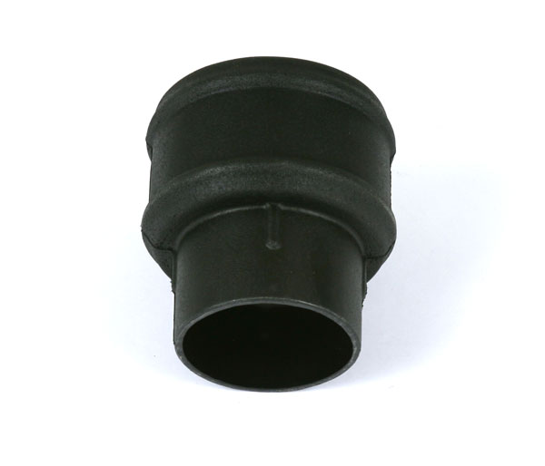 105mm Downpipe Coupler Plain Black