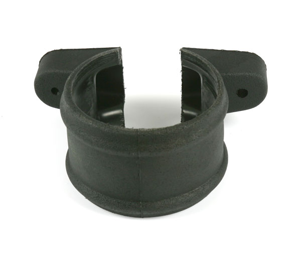 110mm Soil Ornate Bracket Shroud Black