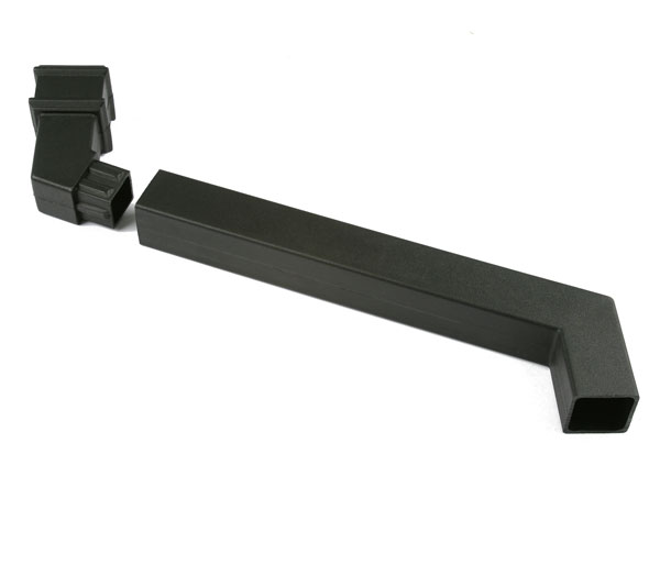 Cascade 65mm Square Pipe Adjustable Offset Bl