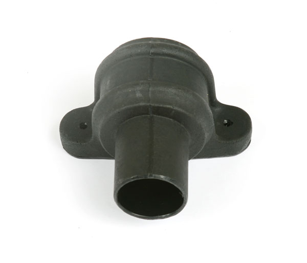 68mm Round Pipe Coupler With Lugs Black