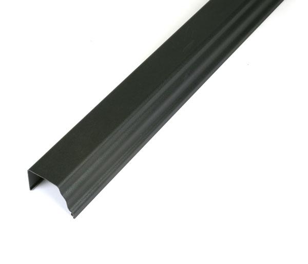 Prostyle Gutter 4m Length Black