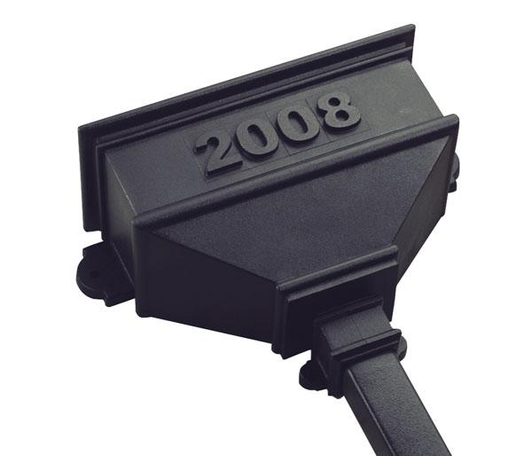 Long Custom Dated Dated Hopper Black