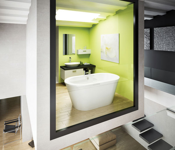 Nouveau Petite Bath 1500x800mm