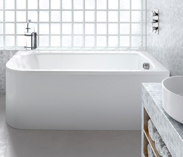 Viride Curved Bath 1800x750 Right Hand