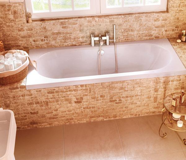Verde 1800x900mm Double Ended Bath