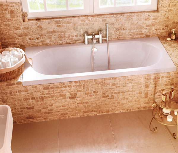 Verde 1900x900mm Double Ended Bath
