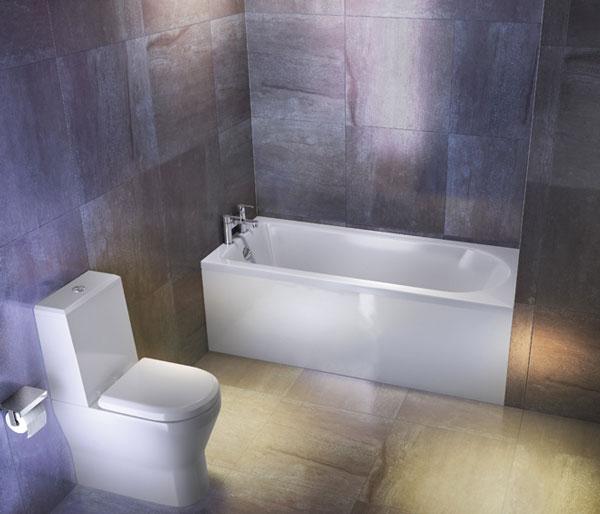 Reuse Single Ended Bath 1600x700mm