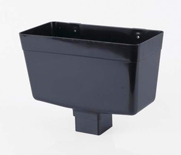 Squarestyle 65mm Anthracite Downpipe Hopper