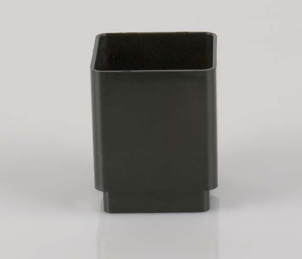 Squarestyle 65mm Black Downpipe Coupling