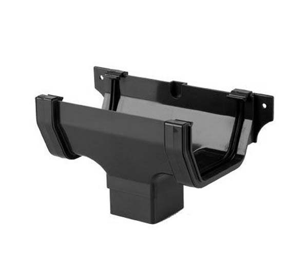 Squarestyle Black Gutter Running Outlet