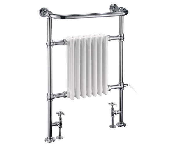 Burlington Trafalgar Radiator White/Chrome