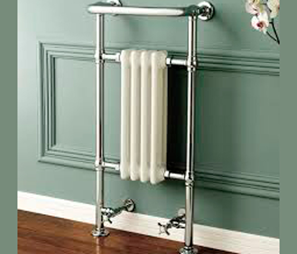 Burlington Bloomsbury Radiator White/Chrome