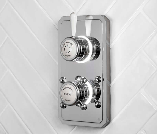 Burlington Digital Shower Dual Outlet LP