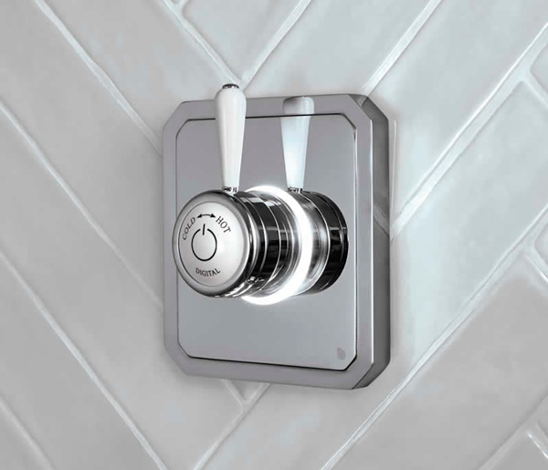 Burlington Digital Shower Single Outlet LP