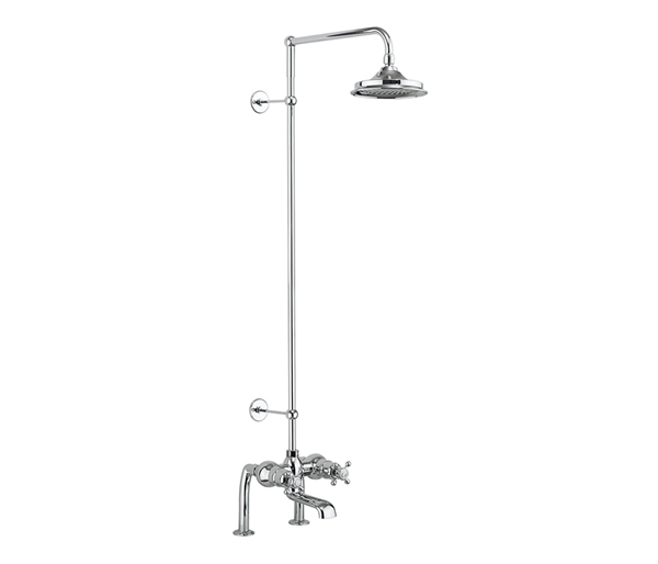 Tay Thermostatic Bath Shower Mixer + 6\