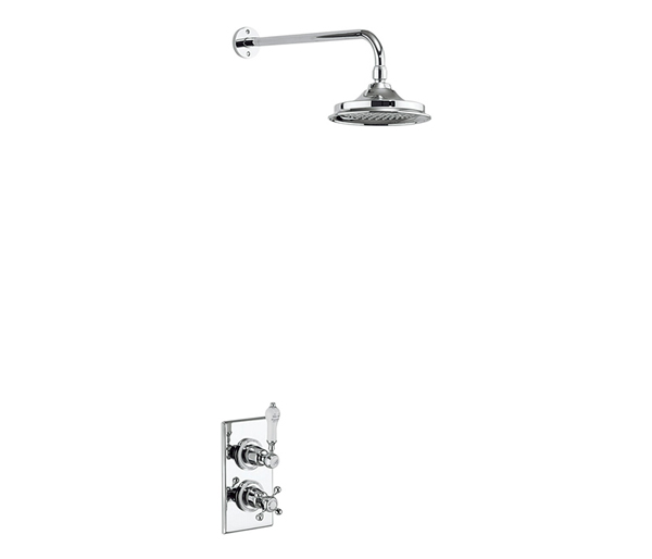 Burlington Trent Concealed Shower Kit 6\