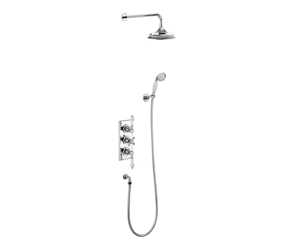 Burlington Trent Shower Kit 6\