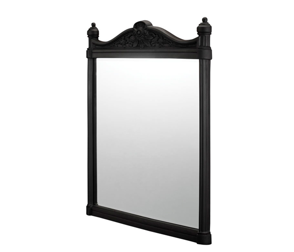 Burlington Black Aluminium Mirror 550x750mm
