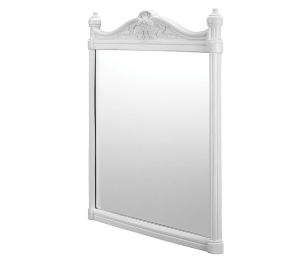 Burlington White Aluminium Mirror 550x750mm