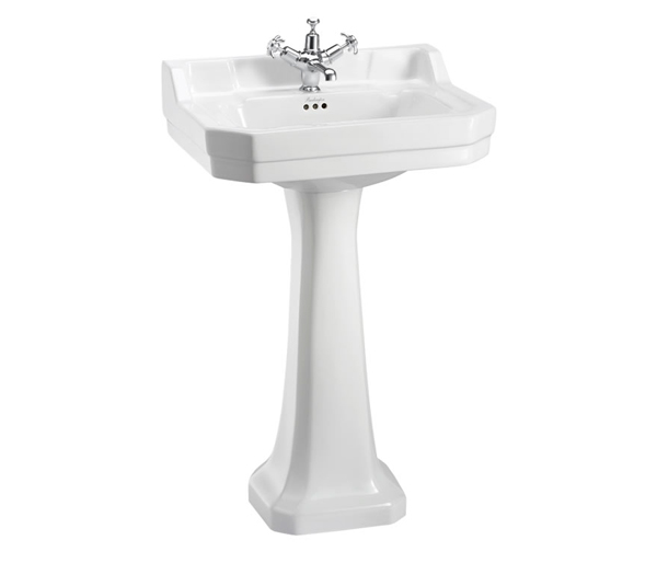 Burlington Edwardian Basin & Tall Ped 560x470