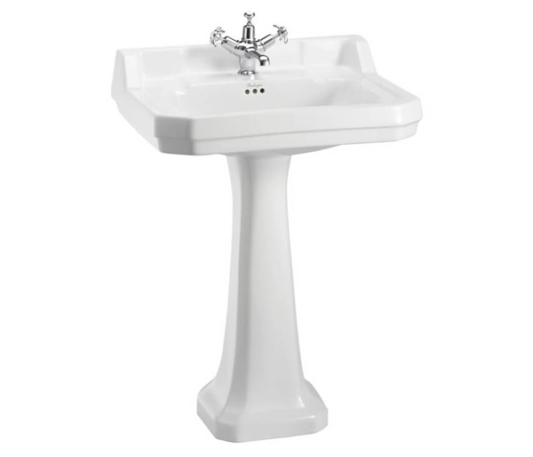 Burlington Edwardian Basin & Tall Ped 610x510