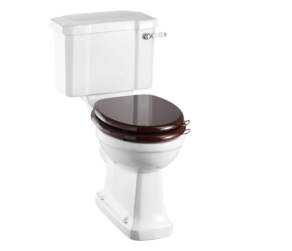 Burlington Close Coupled Toilet + Seat