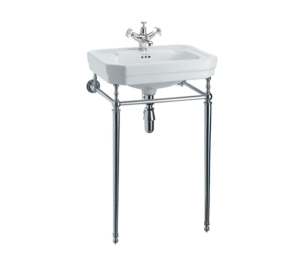 Victorian Basin + Chrome Washstand 560x470mm