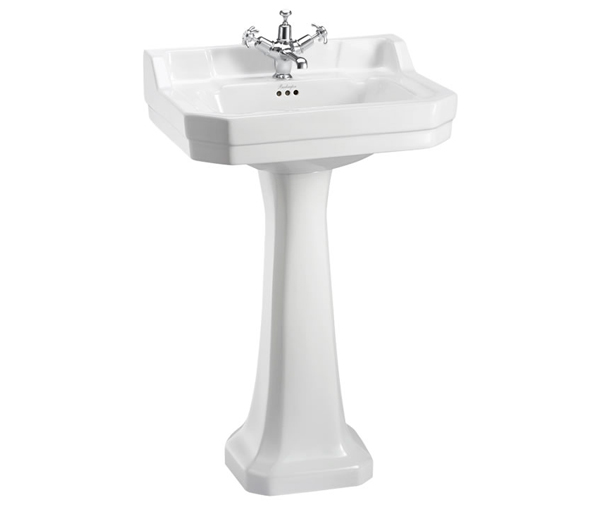 Burlington Edwardian Basin & Pedestal 560x470