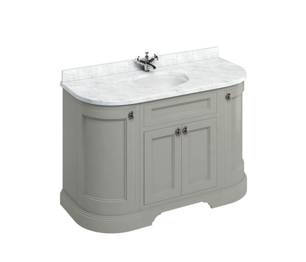 Burlington Vanity Unit 1340x550mm Olive