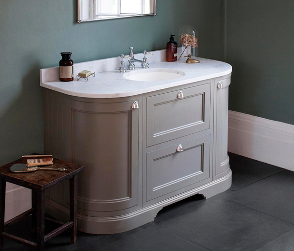 Burlington Vanity Unit 1340x550 Olive