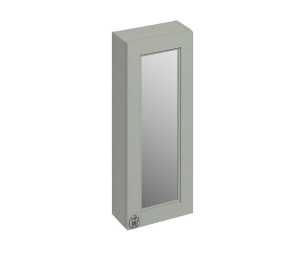 Burlington Mirror Wall Cabinet 300X150 Olive