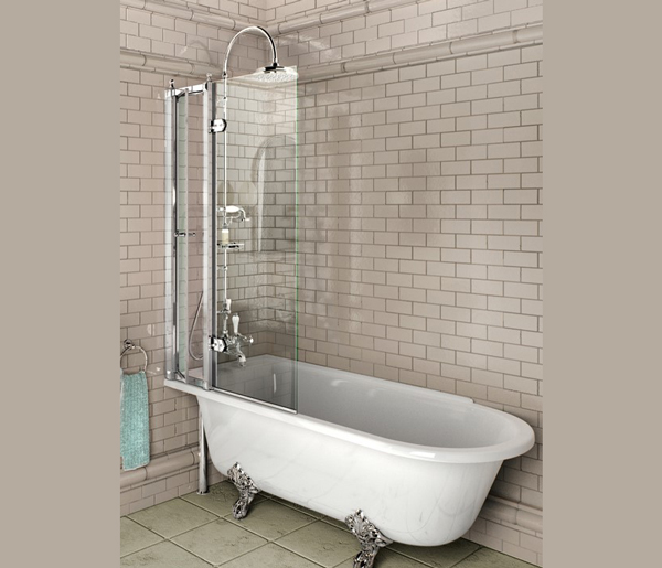 Burlington Hampton Left Hand Bath 1500x700mm