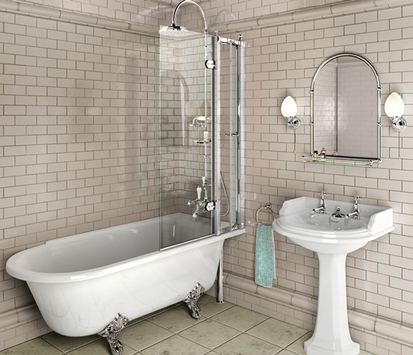 Burlington Hampton Right Hand Bath 1500x700mm