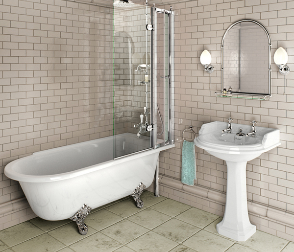 Burlington Hampton Right Hand Bath 1700x700mm