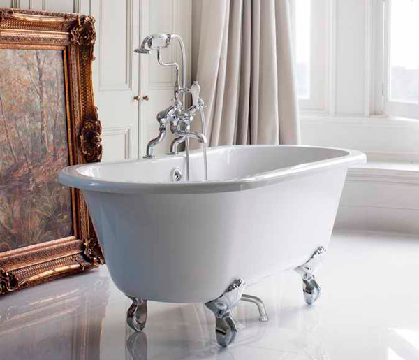 Burlington Windsor Double Ended Bath 1500x750