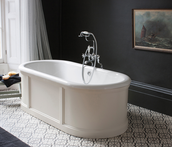London Bath with Sand Surround 1800x850