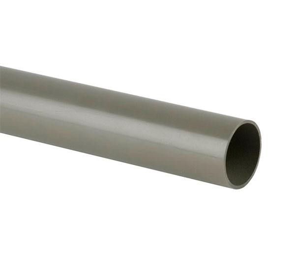 Solvent Weld 32mm Grey Pipe 3m