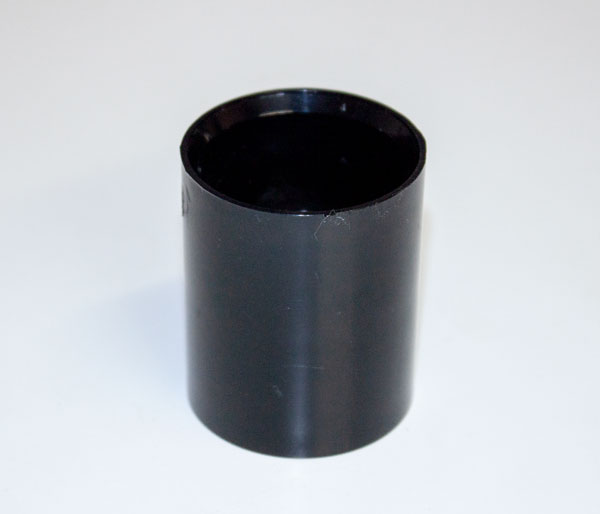 Solvent Weld 32mm Black Coupling
