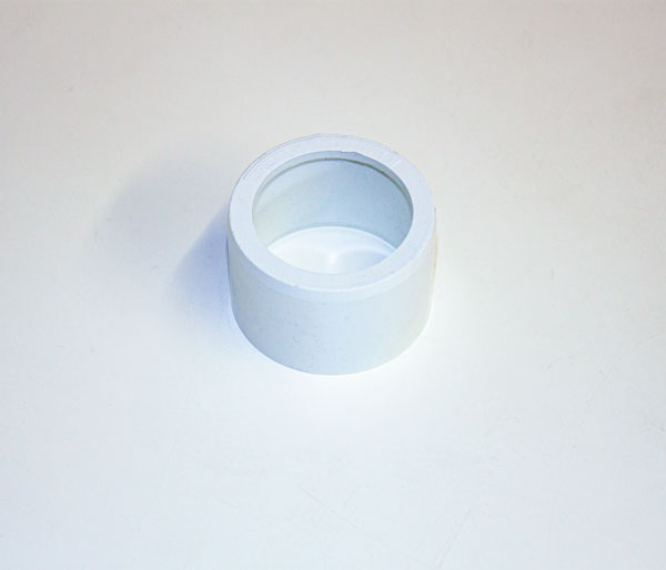 Solvent Weld 40x32mm White Reducer