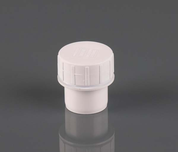 Solvent Weld 32mm White Access Plug